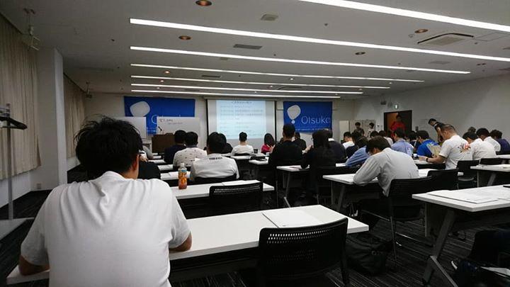 大阪にて日本スポーツ協会公認アスレティックトレーナーの講習会に来ています。
