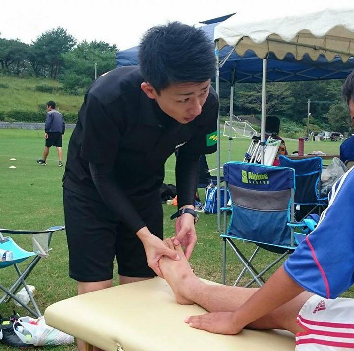 こないだの日曜日は毎年参加させて頂いてる、秋の中体連 サッカー競技の 救護活動をさせて頂きました!